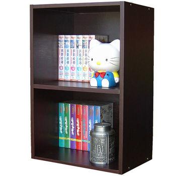 【Dr. DIY】二格間隙書櫃/收納櫃/置物櫃(三色可選)