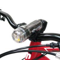 【Q-LITE】3白光LED防水多用途警示燈前燈頭燈/台灣製-透明黑