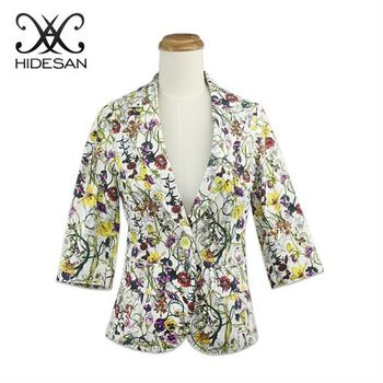 【HIDESAN海蒂山】祕密花園玩色時尚外套