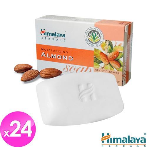 【Himalaya】玫瑰杏仁保濕皂75gm(24入)