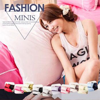 【Domo】雙人四件式床包被套組精梳棉-素色雙色系 戀愛空氣