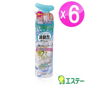 ST雞仔牌 浴香消臭除菌兩用噴劑-香皂香280ml 6入組ST-121014