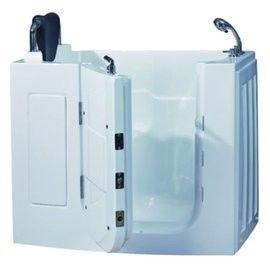 【海夫健康生活館】開門式浴缸 108S-T 恆溫水柱按摩款 (110*63*92cm)