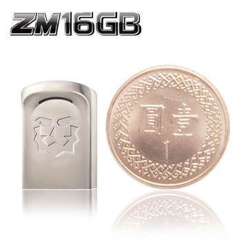 達墨 TOPMORE ZM USB3.0 16GB 世界極小隨身碟