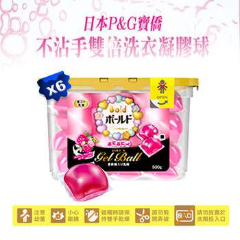 PG 寶僑 雙倍洗衣凝膠球(盒裝) 437g  花香*6   (6入組)