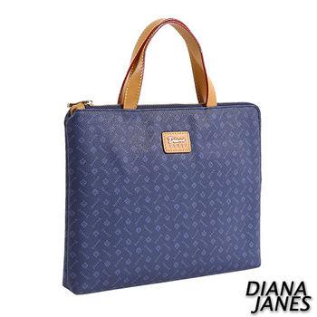 Diana Janes 經典LOGO 平板收納手提袋