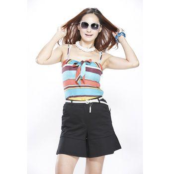 夏朵時尚修身埃及棉褲裙