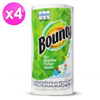 美國 Bounty 廚房清潔紙巾-隨意撕(131張) 12入組