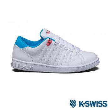 K-Swiss Lozan III經典休閒鞋-女-白/藍