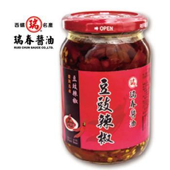 [瑞春]豆豉辣椒(330克/瓶,共12瓶入)