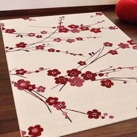 【Ambience】比利時infinity 現代地毯 -梅花(160x230cm)