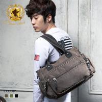 NEW STAR 素面多口袋帆布包側背包托特包旅行袋 BB20