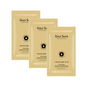 GOLD SUITE金離子高導快充面膜(1箱)
