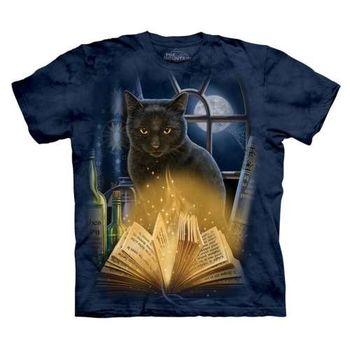 【摩達客】(預購)美國進口The Mountain 迷惑貓 純棉環保短袖T恤