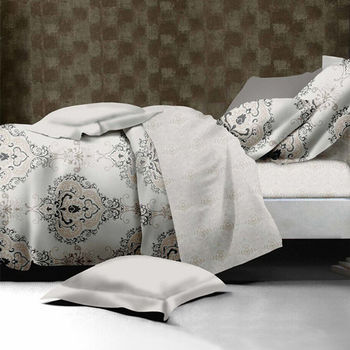 【羽織美】皇家韻味 舒柔棉雙人四件式兩用被床包組
