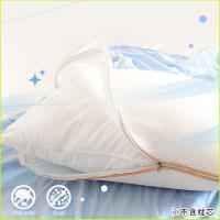 《Embrace英柏絲》透氣專家 3D立體蜂巢式透氣枕頭套70x45cm 可水洗 獨家專利設計 可當洗衣袋 速乾不發霉