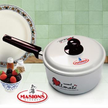 【美心 Masions】珍珠鍋系列-日式湯鍋 18cm(珍珠銀)