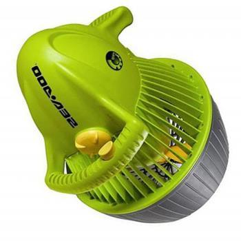 SEA-DOO 小海豚 水中推進器 (綠) 兒童潛水馬達 推進器 夏日戲水 游泳池