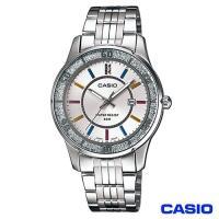 CASIO卡西歐 時尚優雅風格鋼帶女錶-白 LTP-1358D-7A