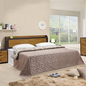 【時尚屋】[5U6]萊雅集層木6尺床箱型加大雙人床5U6-26-21+02601