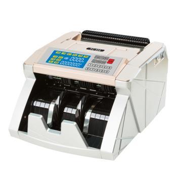 POWER CASH 頂級六國貨幣專業型/金額統計/防偽點驗鈔機 PC-600