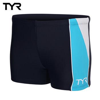 美國TYR男用四角款泳褲Cragen Boxer Sky Blue台灣總代理