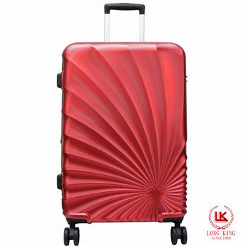 【LONG KING】28吋PET環保材質行李箱 LK-8014/28-紅