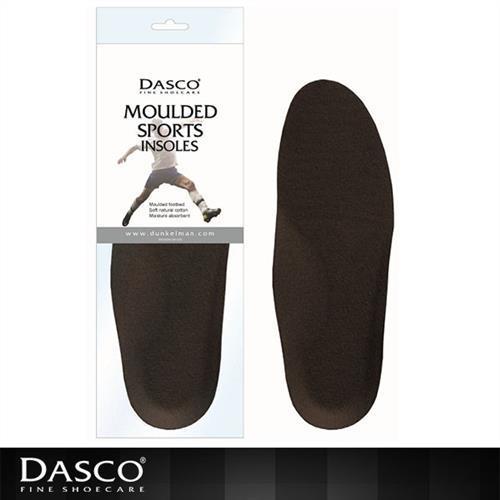 【鞋之潔】英國伯爵DASCO 6096運動鞋專用鞋墊 柔軟舒適 吸收溼氣 高密度 耐久使用