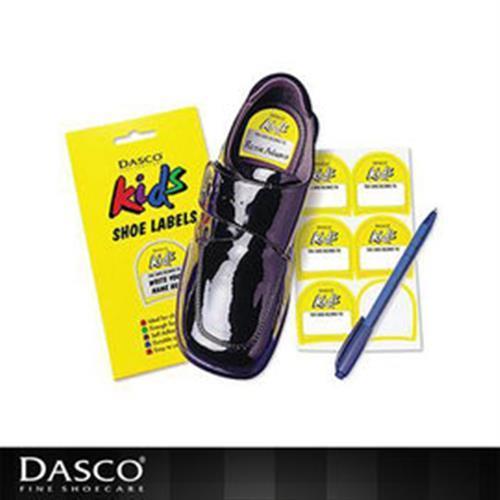 【鞋之潔】英國伯爵DASCO童鞋姓名貼紙 讓孩童不會再遺失鞋子