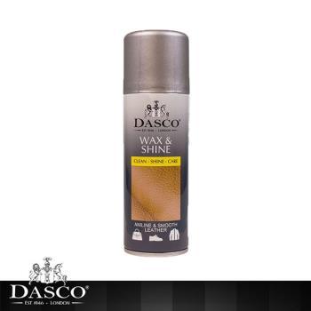 【鞋之潔】英國伯爵DASCO 4011皮革亮光噴劑 不傷皮革 贈超細纖維拋光布