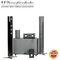 【Wharfedale】 Micro 造型鋼烤皮革5.1聲道家庭劇院組 WA-T4 + WA-S1 + WA-S2 + WA-8SB