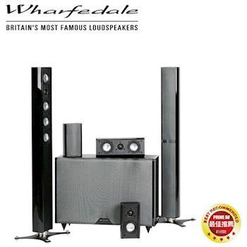 Wharfedale 英國 Micro 造型鋼烤皮革5.1聲道家庭劇院組 WA-T4 + WA-S1 + WA-S2 + WA-8SB