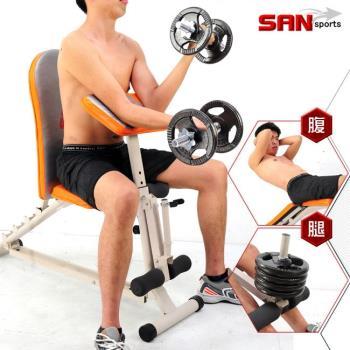 【SAN SPORTS】第二代怪力重量訓練機