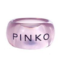 PINKO 紫色透明 LOGO 手環