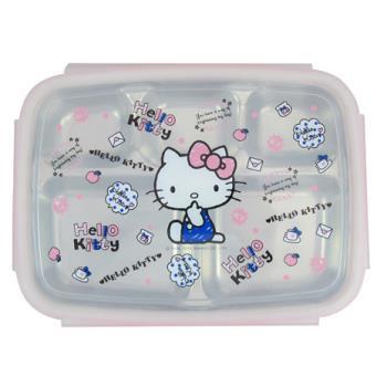 Hello Kitty不鏽鋼隔熱餐盒手繪 KS-8150