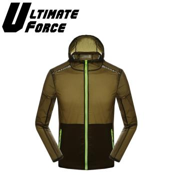 Ultimate Force 極限動力「活力之夜」高端運動機能外套(軍綠)