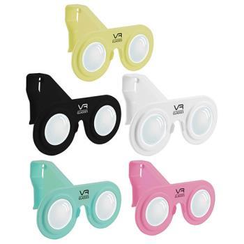 【ES艾斯】攜帶型迷你VR 3D虛擬實境眼鏡