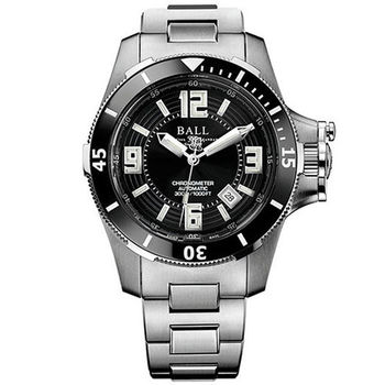 BALL 波爾 Engineer Hydrocarbon 天文台認證陶瓷框潛水機械腕錶/40mm/DM2136A-SC-BK