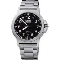 Oris BC3 Advanced 日曆星期飛行錶-黑/42mm 0173576414164-0782203