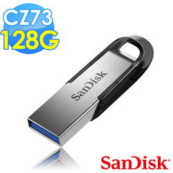 【Sandisk】CZ73 Ultra Flair USB3.0 128G 隨身碟(公司貨)