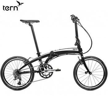 Tern Verge P20 鋁合金20吋20速折疊單車-黑底白標