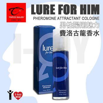 美國 TOPCO SALES 男性陽剛魅力 費洛古龍香水 Lure for Him Pheromone Attractant Cologne