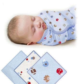 【美國Summer Infant】聰明懶人育兒包巾(運動球風3入組)