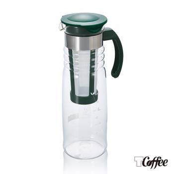 Tcoffee HARIO深綠苗冷泡茶壺1200ml