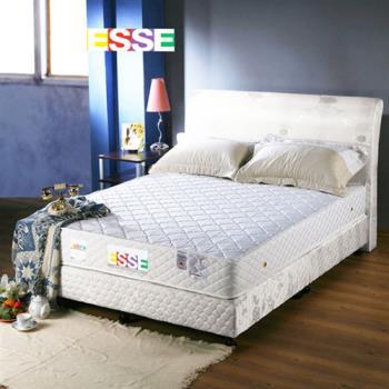 ESSE御璽名床 抗菌防蹣獨立筒雙人床墊(加贈香薰記憶床墊*1+香薰記憶枕*2)