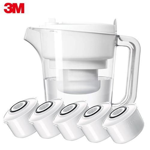 3M 即淨長效濾水壺—1壺+5濾心 WP3000