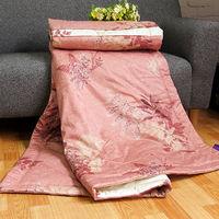 FITNESS 精梳純棉涼被夏之葉語152x200cm(紅)