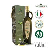 法奇歐尼 莊園特級冷壓初榨橄欖油750ml x1瓶-羅馬瓶禮盒