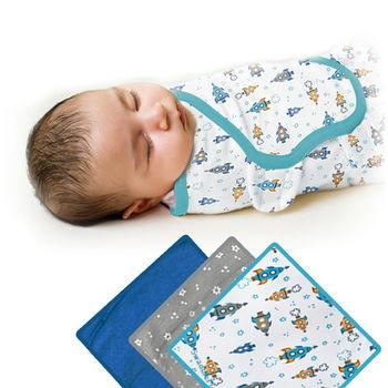 【美國Summer Infant】聰明懶人育兒包巾-加大(火箭星空3入組)