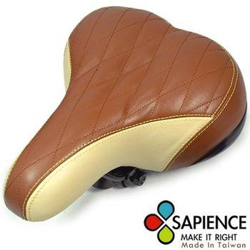 【SAPIENCE】超舒適自行車專用咖啡沙發座墊